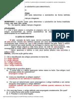 Armazém de Textos_ Artigo- Classificação e Atividades Com Gabarito- Ensino Fundamental
