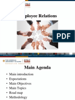 Employee Relation Material (NR)