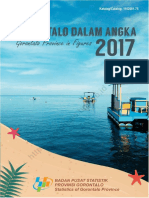 Provinsi Gorontalo Dalam Angka 2017