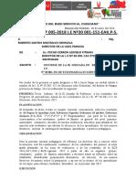 III JORNADA DE REFLEXION I.E. N° 30 001-151
