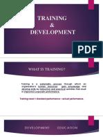 Training & Deveops