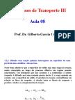 Aula 08 - Difusão Em Regime Permanente Com Reação Química II