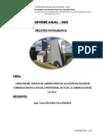 Registro Fotográfico Secuencial - Año 2015