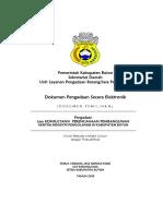 Dokumen Pemilihan Perenc. Pemb. Sentra Industri