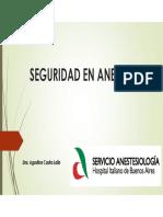 Clase. 5. Seguridad en Anestesia