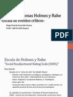 Escala de Thomas Holmes