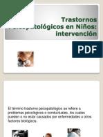 Trastornopsico Patologico en Los Niños