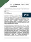 Una Nueva Generación Democrática Para América Latina Nota Diario Nación