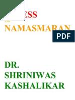 Stress and Namasmaran Dr. Shriniwas Kashalikar (1)