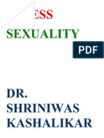 Stress and Sexuality Dr Shriniwas Kashalikar