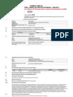 Ficha de Registro - Banco de Proyectos Sicuas Majes