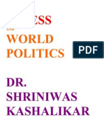 Stress and World Politics Dr. Shriniwas Kashalikar (1)