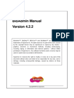 BioAdmin Manual V4 2 2 English