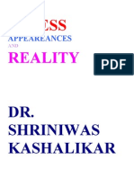 Stress Appearances and Reality Dr. Shriniwas Kashalikar (1)