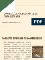 Contexto de Producción de Una Obra Literaria