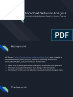 Microbial Network Analysis