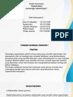 Stakeholder Ppt