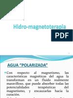 2.3 a Hidro-magnetoterapia
