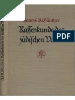 Günther Hans Friedrich Karl - Rassenkunde Des Jüdischen Volkes