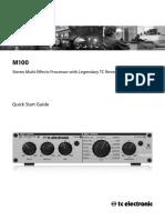 TC Electronic M-100 User Manual