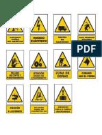 Señales de Transito Seguridad y Simboloes