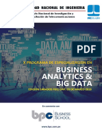 Busnes Analitics y Big Data