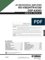 rxv563 service manual.pdf