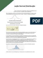 Distribuição Gaussiana