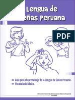 Lengua de Señas Peruana Guía Para El Aprendizaje de La Lengua de Señas Peruana, Vocabulario Básico