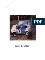VWSport Mk2 Golf Bodyshell Preparation