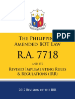 Bot Law Irr 2012
