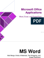 03 - Microsoft Office Applications