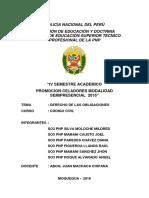 Monografia Derecho de Las Obligaciones - So3 Pnp Paredes Chavez Diana
