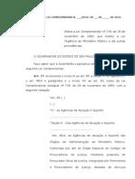 Projeto de Lei Complementar