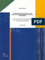 Les instabilités structurales Guide d´analyse par stéréographie et de calcul de ancrages