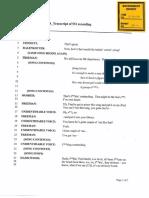 Transcript of conversation between Pilot Flying J executives in October 2012
