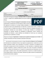 Protocolo de Investigacion 2016-1