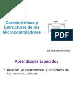 Microcontroladores - Tema I - Características y Estructuras de Los Microcontroladores