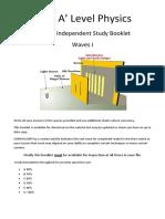 EWP Independent Study Booklet III (Wave Properties)