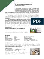 Extração, Separação, Identificação e Fluorescência de Pigmentos Celulares