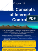 Chapter 15 Basic Concepts and Elements of Internal Control