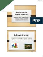 Administración General y Sanitaria, Estudiantes