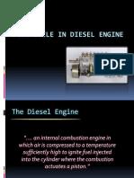 FUEL Cycle in Diesel Engine