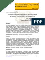 La importancia del estudio de la psicosis en el ámbito jurídico penal