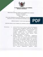 Permen ESDM Nomor 11 Tahun 2018 Tata Cara Perizinan Dan Pelaporan