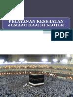 Pelayanan Kesehatan Haji Kloter