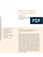Michael Dove (2006) Indigenous People and Environmental Politics