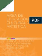 Área de educación cultural y artística