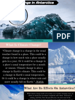 climate change in the pacific  antarctica