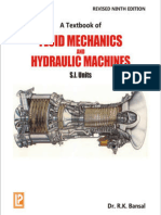 A Text Book of Fluid Mechanics and Hydraulic Machines - R. K. Bansal